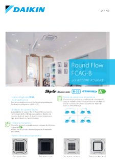 Round Flow Cassette CASG-B - Sky Air Serie Advance