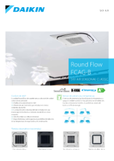 Round Flow Cassette CQSG-B - Sky Air Seasonal Classic