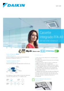 Cassette integrado FAS-A - Sky Air Serie Advance