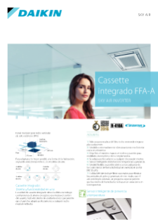 Cassette integrado FQS-C - Sky Air Inverter