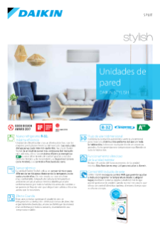 Unidades de pared Daikin Stylish